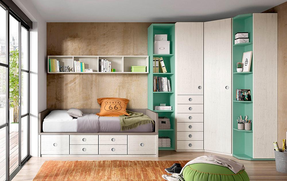 Habitaciones infantiles blanco mobles - Habitaciones infantiles barcelona ...