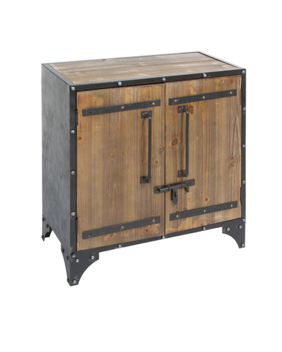 Mueble 2 puertas madera