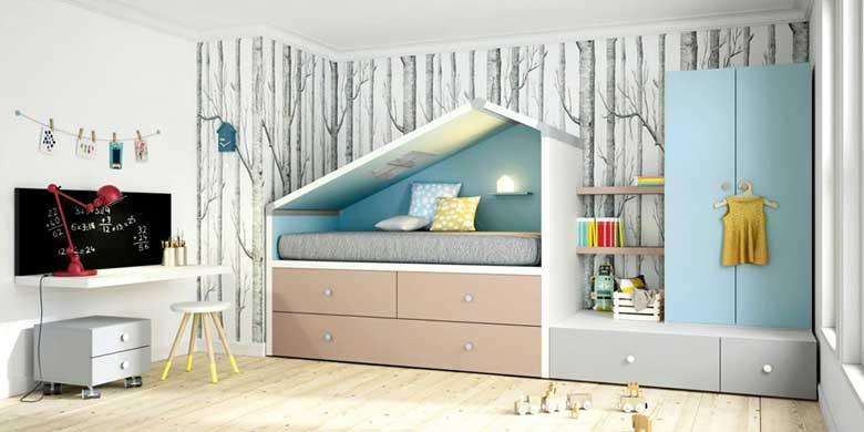 Habitaciones juveniles e infantiles para soñar